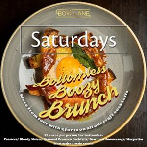 Bottomless Boozy Brunch