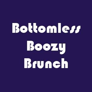 bottomless boozy brunch